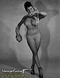 Black And White Vintage Naked Pinup Pics