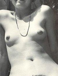 Vintage High Contrast Erotic Nudist Photography