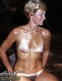 Totally Nude Ladies Shot On Camera In 70's