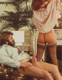 retro porn threesome pics