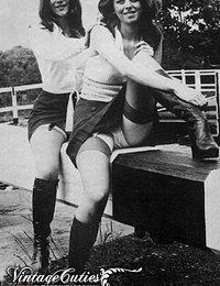 Big Boobed Ladies And Naked Girls Of Vintage 1970 Era